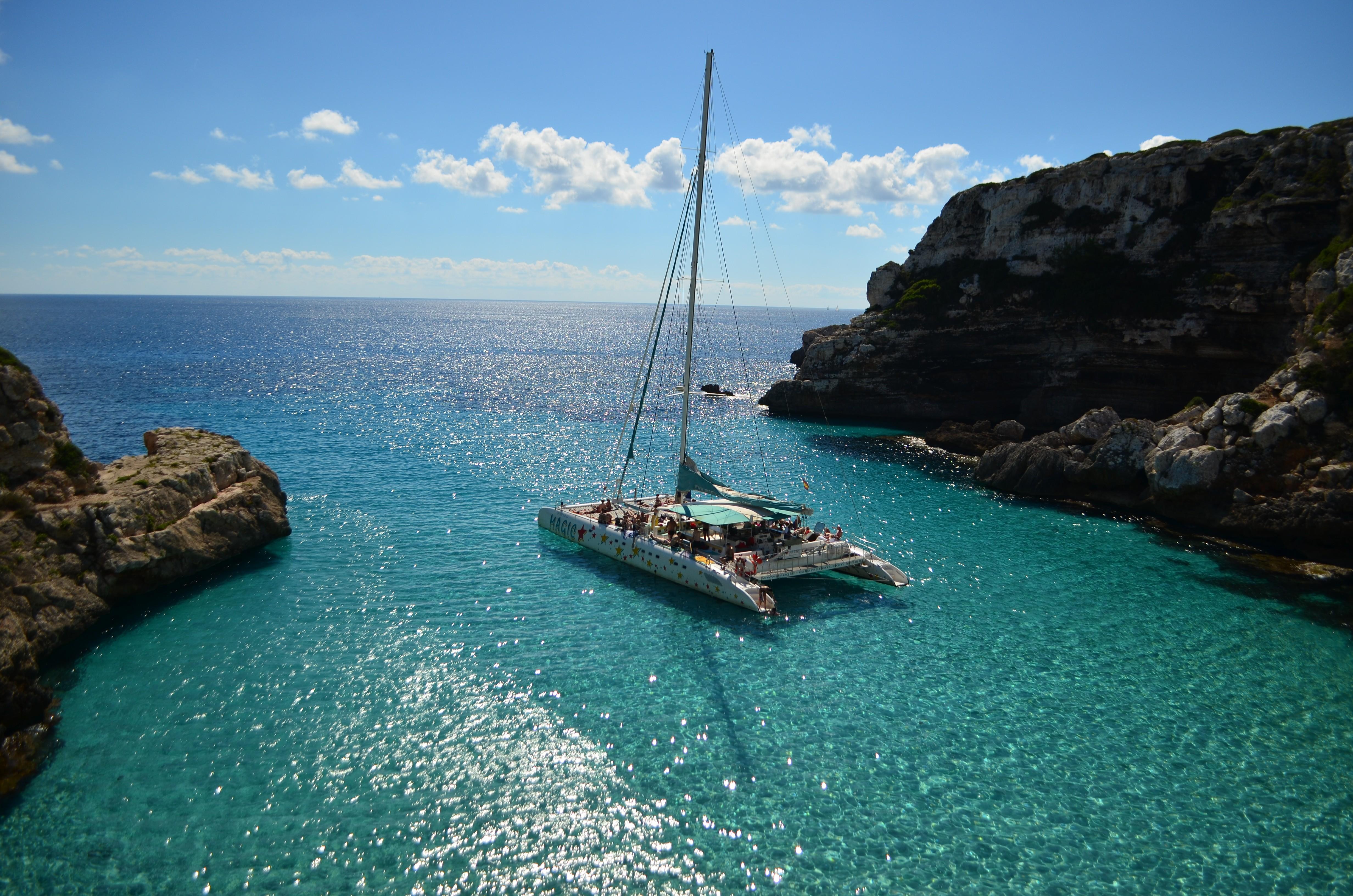 Sailing cruises Es Trenc